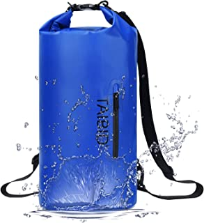 TAIBID Waterproof Dry Bag, 10L/20L/30L Dry Bags for Boating Kayaking Swimming with Adjustable Shoulder Strap for Camping S...