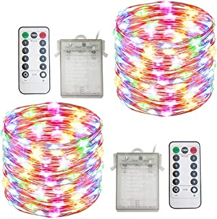 battery led wire lights