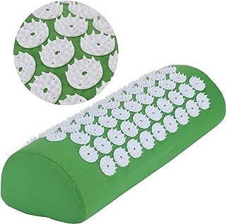 Belmalia Poduszka do akupresury na ramiona i kark, poduszka do masażu, poduszka relaksacyjna, TCM zielona