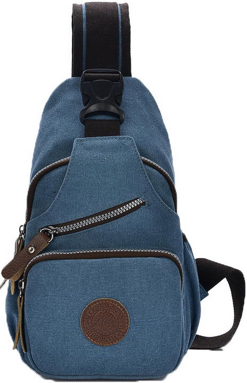 AllhqFashion Women's Crossbody Bags Casual Canvas Shoulder Bags, FBUBD181154