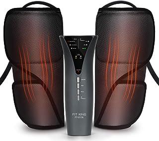 FIT KING Leg Massager for Circulation Calf Massager with Heat 3 Modes 3 Intensities FT-017A