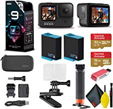 $534 » GoPro HERO9 Action Camera - Special Bundle + Floating Hand Grip + Magnetic Swivel Clip + Sandisk 32GB & 16GB SD Cards + 2 ...