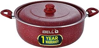 IBELL Aluminium Biryani Pot (11.5 Liters) Red