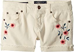 Lucky Brand Kids - Bobbi Denim Shorts in Natural (Big Kids)
