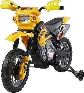 HOMCOM Moto Electrica Infantil Bateria 6V Recargable Niños