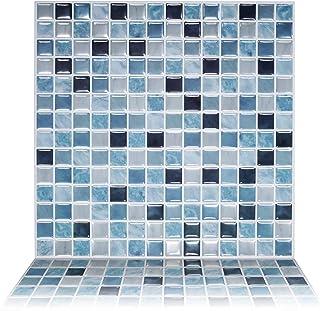 "Tic Tac Tiles 1-Sheet 12"" x 12"" Peel and Stick Self Adhesive Removable Stick On Kitchen Backsplash Bathroom 3D Wall Sticke..."