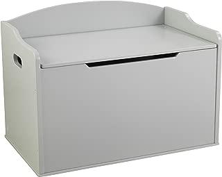 KidKraft Austin Toy Box, Grey Fog