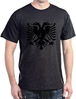 Albanian Eagle Emblem Dark T Shirt Cotton T-Shirt