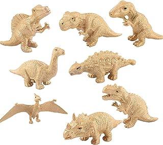 8-delig Dinosaurusmodel, Simulatie Solide Duurzame Jungle-decoraties, Plastic Dinosaurusspeelgoed Voor Kinderen, Inclusief...