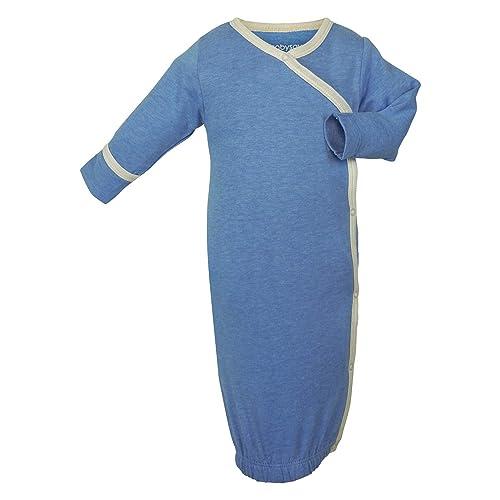 Babysoy Eco Essential Kimono Bundler - Long Sleeve Baby Sleeper Gown