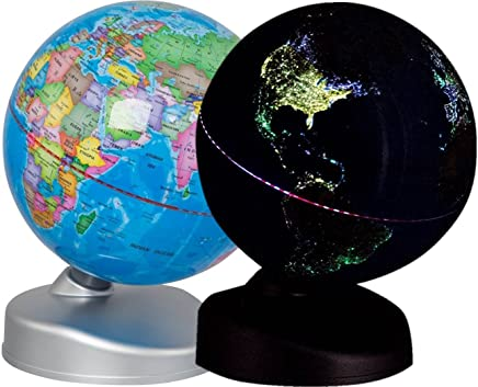 Discovery Kids World Globe for Kids Day and Night Earth