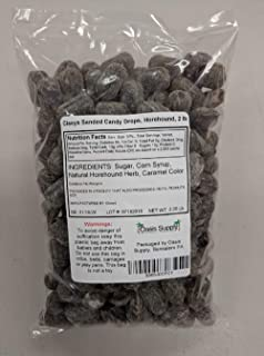 Claeys Sanded Candy Drops, Horehound, 2 Pound