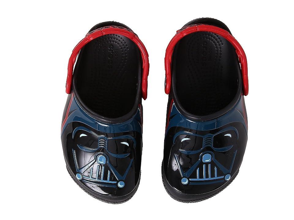 Crocs Kids CrocsFunLab Lights Darth Vader (Toddler/Little Kid) (Black) Boy