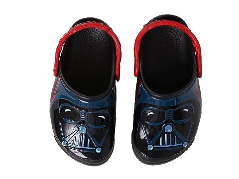 e2eb1e86aa4fd Crocs Kids CrocsFunLab Lights Darth Vader (Toddler Little Kid) at 6pm