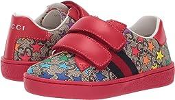 GG Supreme Double Strap Sneaker (Toddler)