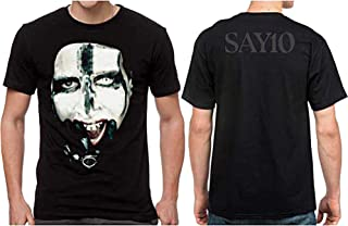 H3 SPORTGEAR Marilyn Manson Kill for Me Men's Short Sleeve T-Shirt