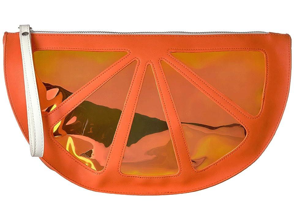Circus by Sam Edelman Half Moon Wristlet (Orange) Wristlet Handbags