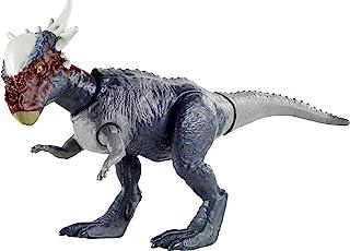 Jurassic World Camp Cretaceous Stygimoloch Stiggy Savage Strike Dinosaur Figure, Smaller Size, Attack Move Iconic to Speci...