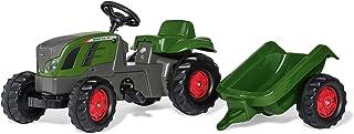 Rollykid 01/316/6 Toys rollyKid Fendt 516 Vario Trettraktor mit Anhänger, Alter 2,5-5 Jahre, Heckkupplung, Drehschemellenkung 13166