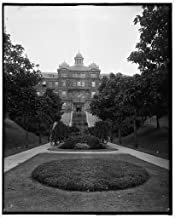 Vintography 8 x 10 Ready to Frame Pro Photo of Approach to Steps McMicken Hall McCormick U of C Cincinnati Ohio 1915 Detriot Publishing 87a
