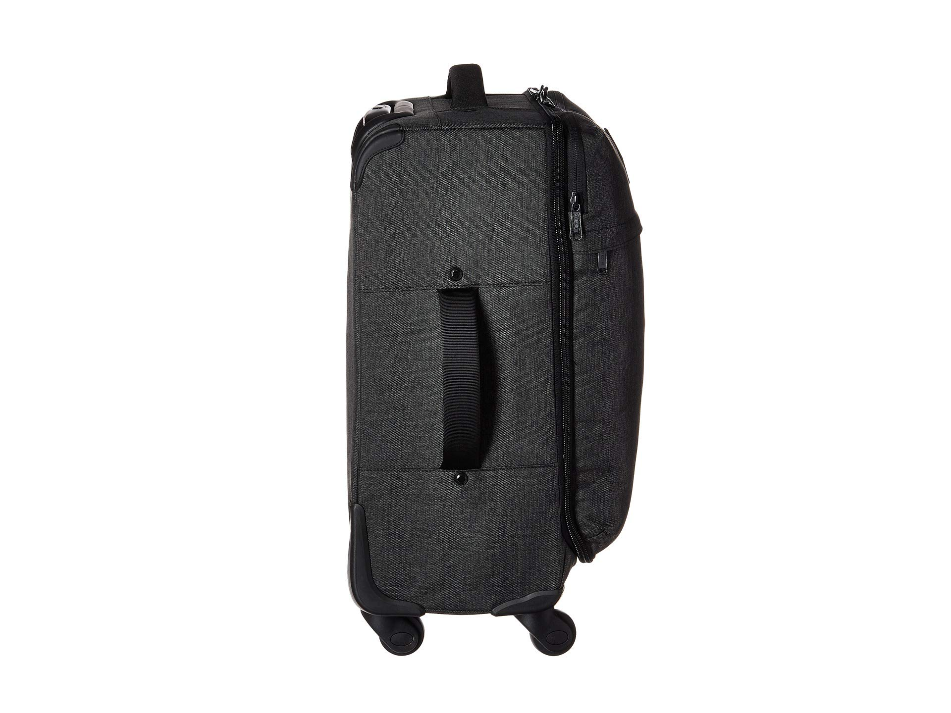 Highland Supply Herschel Co Carry Crosshatch Black on xEvCwdq6v