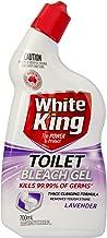 White King 13427 Toilet Cleaner Gel Lavender 700ml