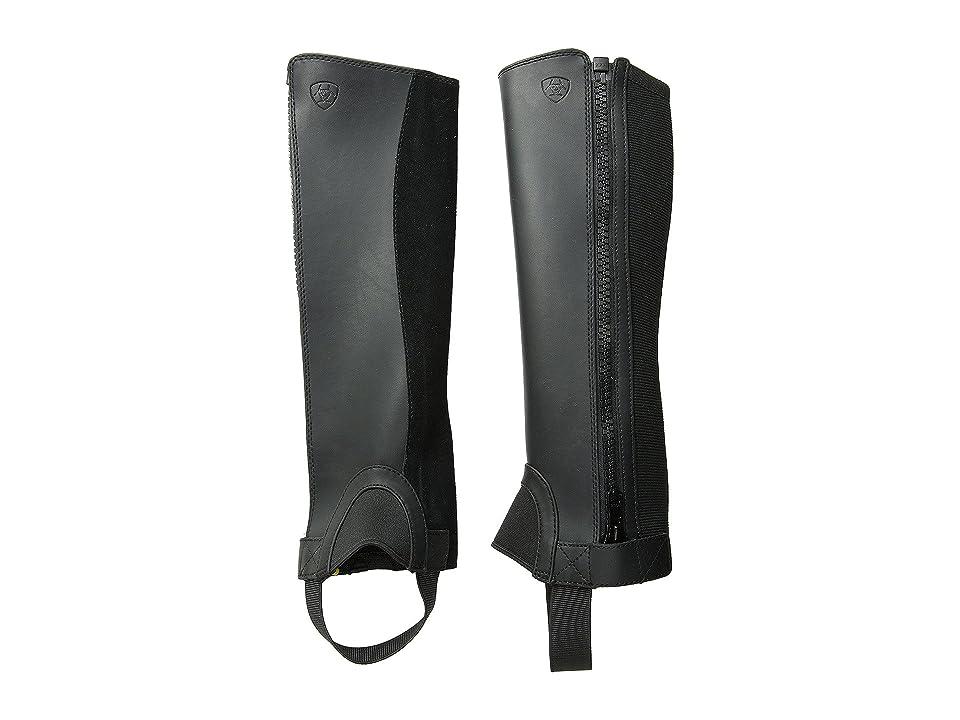 Ariat English Kids Scout Chap Tall (Black) Cowboy Boots