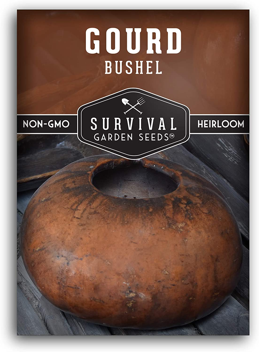 Survival Product Garden Seeds - Bushel Gourd Packet Seed Planting Ranking TOP6 for