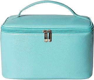 Cosmetic Bag, Turquoise Travel Accessories Cosmetics MakeUp Case Organizer Bag Makeup Bag Large Toiletry Bag Travel Bag Ca...