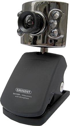 Ewent Webcam USB 2.0, 16 Megapixel Interpolazione, 6 LED Illuminazione Dim, Microfono Integrato, Nero - Trova i prezzi più bassi
