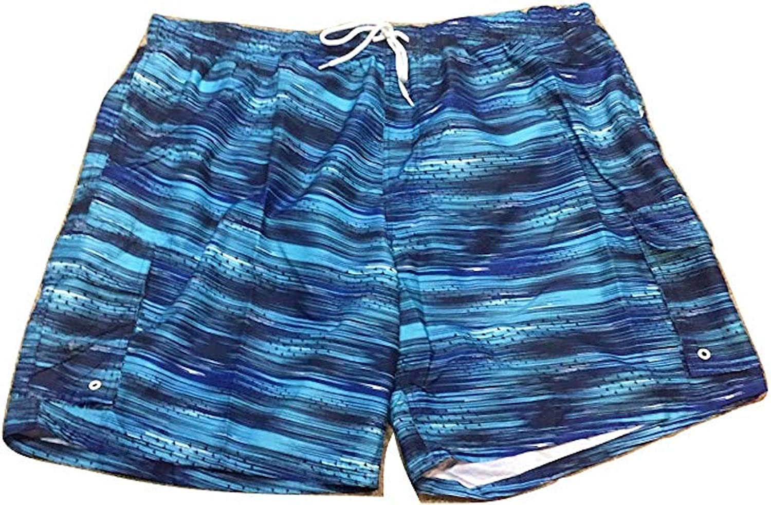 Big and Tall Board Short Cargo Swim Trunks to 8X