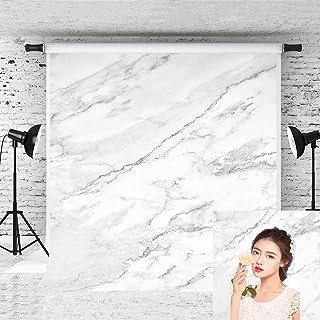 Little Lucky 1,5 x 2,1 m natürlicher Marmor Fotografie Hintergrund Steine Textur Muster Steine Foto Hintergrund für Fotografen Portrait Shoot Studio Prop