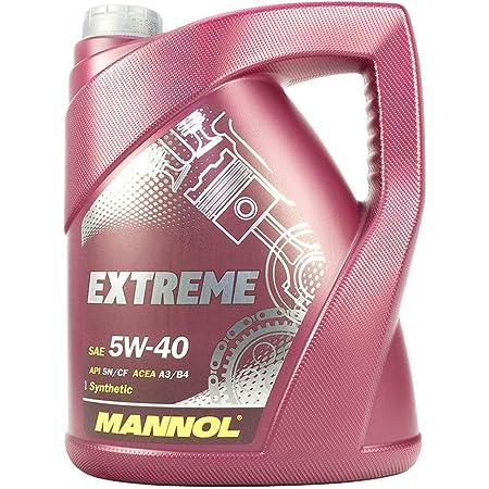 MANNOL 42550400500 Extreme Huile Moteur 5W40 SL/CF 5 l