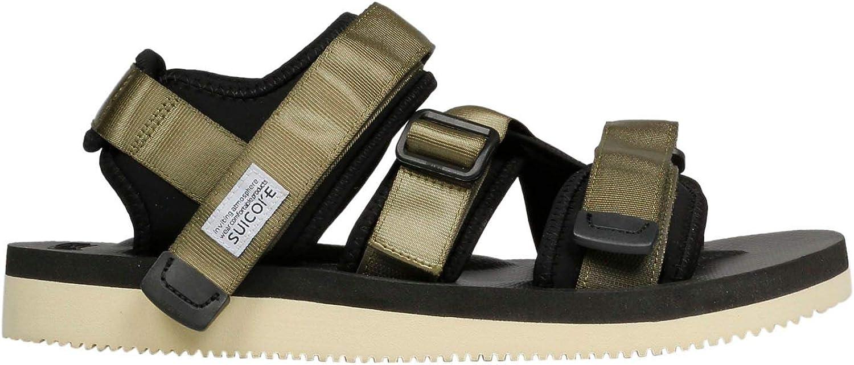 SUICOKE Women's OG044V004 Green Polyester Sandals