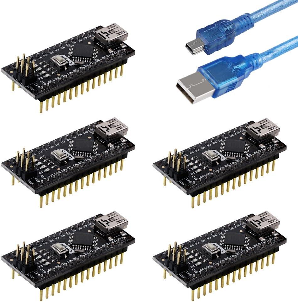 Emakefun New York Mall Nano Now on sale V3.0 Board Micro-Controlle ATmega328P 16M 5V