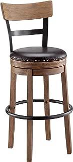 Best 24 wood swivel bar stools Reviews