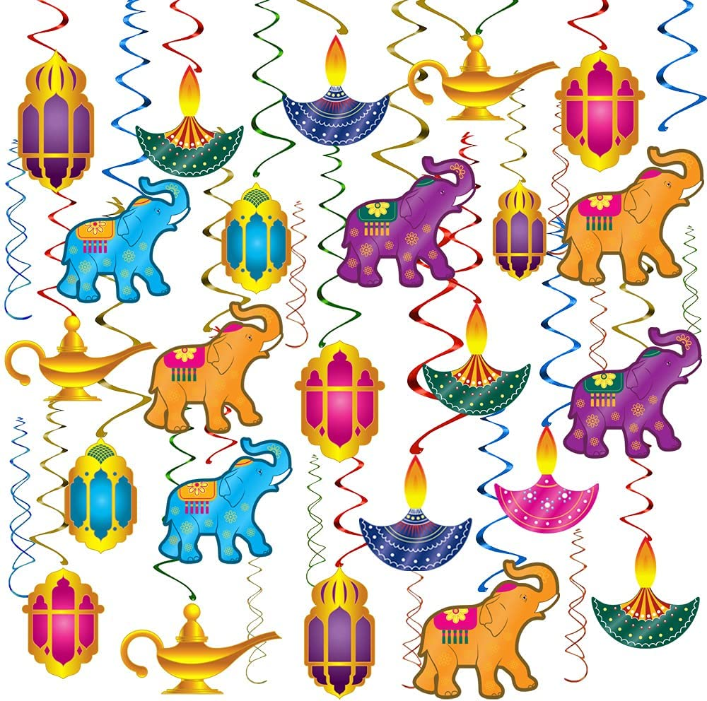 Happy Diwali Hanging Decoration Supplies - Festival of Lights Pa