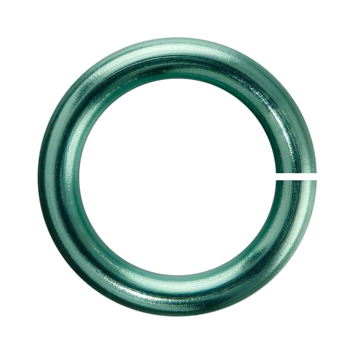 18-Gauge 7mm Seafoam Enameled Copper Jumprings - 1 ounce