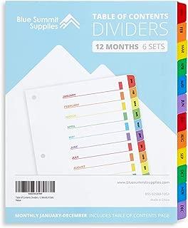 Best tabbed notebook dividers Reviews