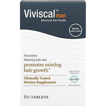Viviscal Man Hair Growth Supplements, 60 Count