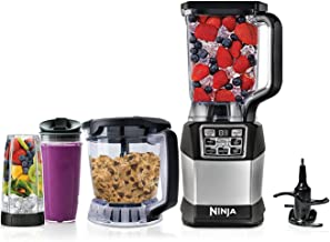 Nutri Ninja BL494 1200W Kitchen System Blender with Auto-iQ Boost - (Renewed)