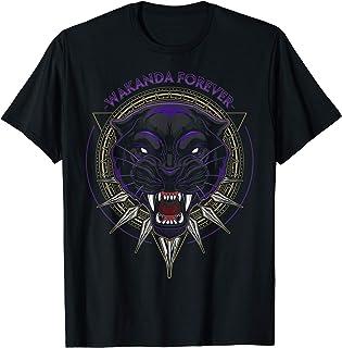 Marvel Black Panther Wakanda Forever Circle T-Shirt