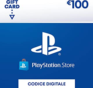 PlayStation Network PSN Card 100€   Codice download per PSN - Account italiano - 100 EUR Edition  