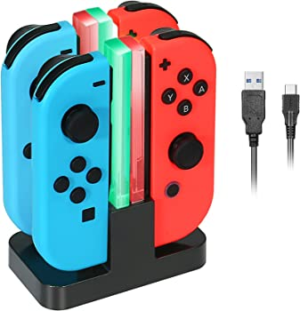 KINGTOP Charger Station for Nintendo Switch
