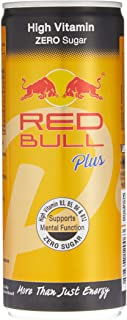 Red Bull Plus Vitamin Energy Drink Can