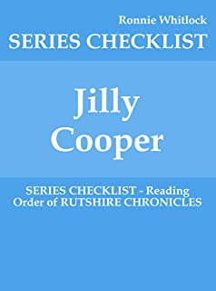 Jilly Cooper - SERIES CHECKLIST - Reading Order of RUTSHIRE CHRONICLES