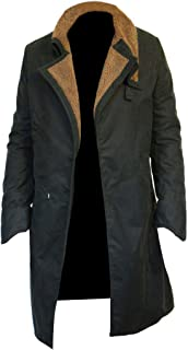 Celebrity Officer Style Costume Trench Leather Coat