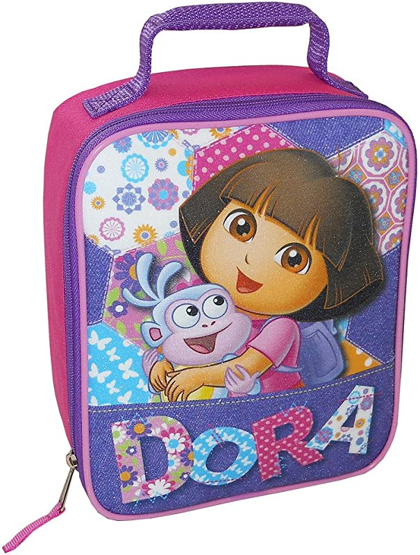 Dora Lunch Bag Pink And Purple