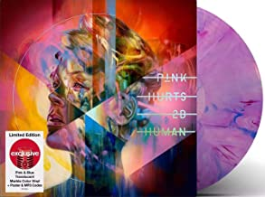 Hurts 2B Human - Exclusive Limited Edition Pink And Blue Translucent Marble Color 2xLP Vinyl [Condition-VG+NM]