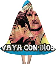 Point Break Hes Not Coming Back Vaya Con Dios Unisex Kids Hooded Cloak Cape Halloween Xmas Party Decoration Role Cosplay Costumes Black